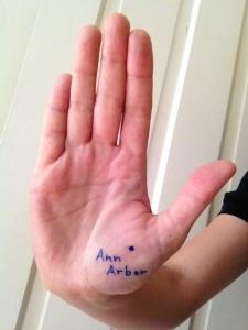 Ann Arbor hand