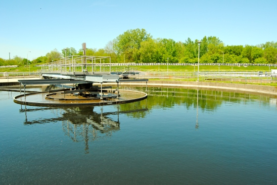 This is wastewater is almost ready to send back into the Grand River in Grand Rapids MI
