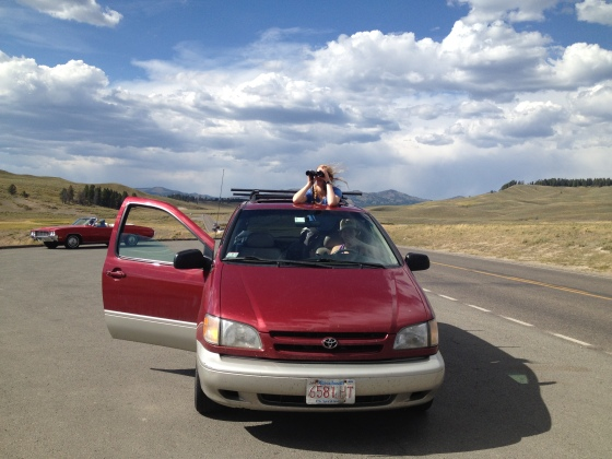 We drove Allie's moms 2000 Toyota Sienna minivan around the country and only got one (self-induced) flat tire.