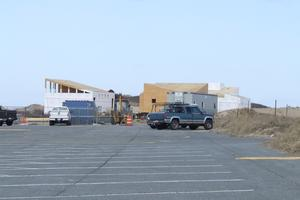 The new Leed Silver Provincetown Bathhouse under construction. Source: www.wickedlocal.com