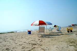 The Delaware beaches pretty relaxing