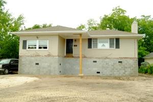Vaughn has been helping this homeowner access FEMA grants to raise their home.