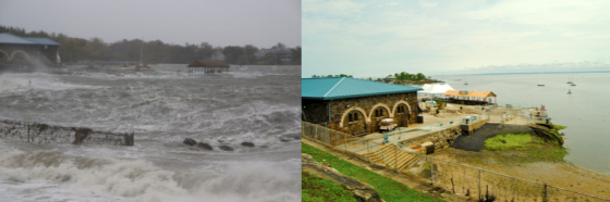 New Rochelle before and after