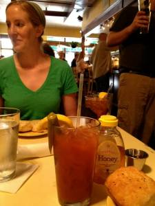 Brunch in Asheville, NC (complete with a bacon-infused bloody mary)