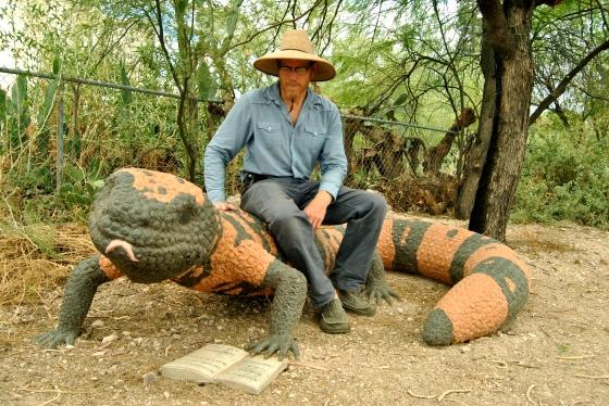 Brad Lancaster, rainwater harvester in Tucson, AZ.