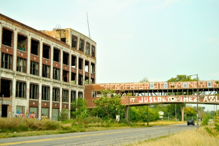 The Packard Plant in Detroit is the largest abandoned building in the country