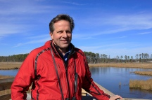 Erik Meyers, Vice President of The Conservation Fund, believes that there is hope for Maryland's iconic tidal marshes. | Photo: (c) Whitney Flanagan, The Conservation Fund