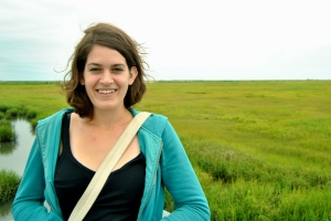 Allie explores part of the JCNERR, expansive saltmarshes that protect inland communities from storms like Sandy