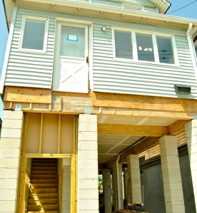 Many residents who lived through Sandy are now raising their homes so they can be better prepared for the next storm. First-floor garages are built to be 'floodable' and give the added benefit of off-street parking.